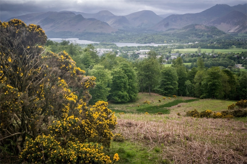 Blencathra & Skiddaw in VERY high Winds , LakeDistrict.